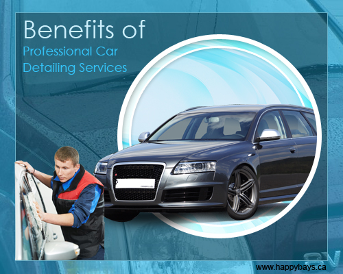 Prominent Benefits of Professional Car Detailing Services