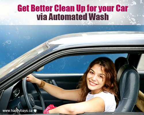 Clean Up for your Car via Automated Wash