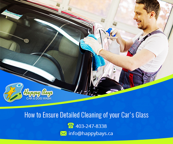 Cleaning of your Car's Glass