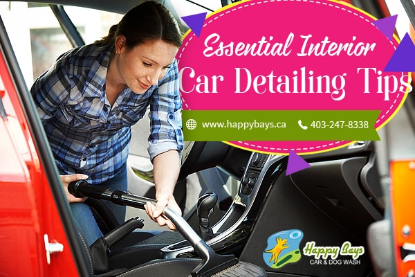 Interior Car Detailing Tips