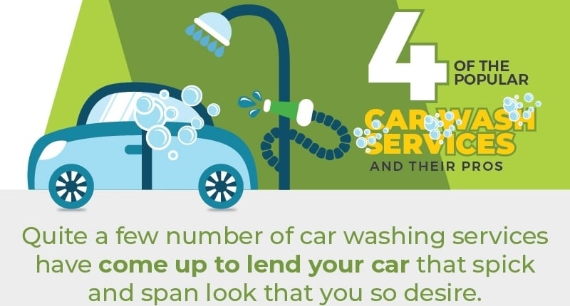 4 Of The Popular Car Wash Services