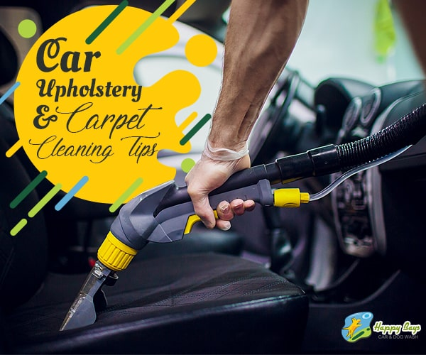 Car Upholstery and Carpet Cleaning Tips