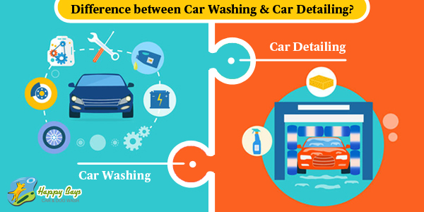 What is the difference between Car Washing & Car Detailing
